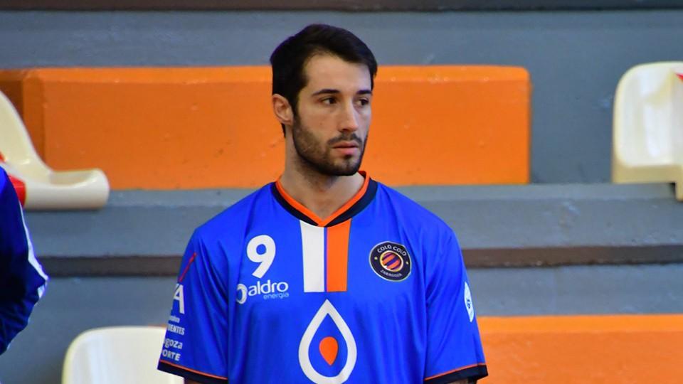Zucho, jugador del Full Energía Zaragoza. (Foto: Andrea Royo López)