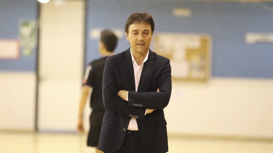 Imanol Arregui, entrenador del Osasuna Magna Xota.