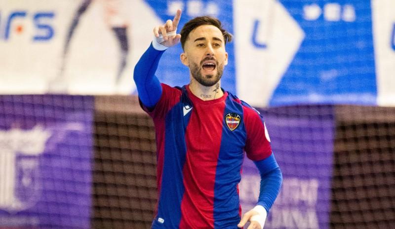 Rivillos, jugador del Levante UD FS