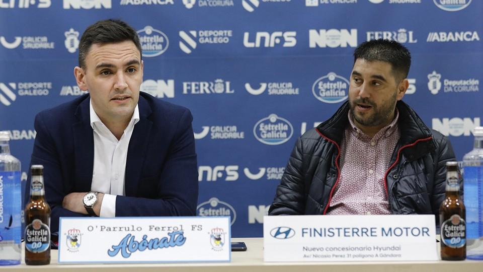 Héctor Souto, en una rueda de prensa.