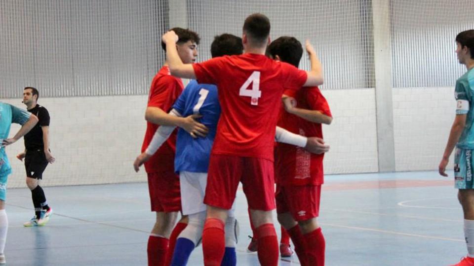 Arranca la Segunda Fase del Campeonato División de Honor Juvenil para la Academia Red Blue 5 Coruña