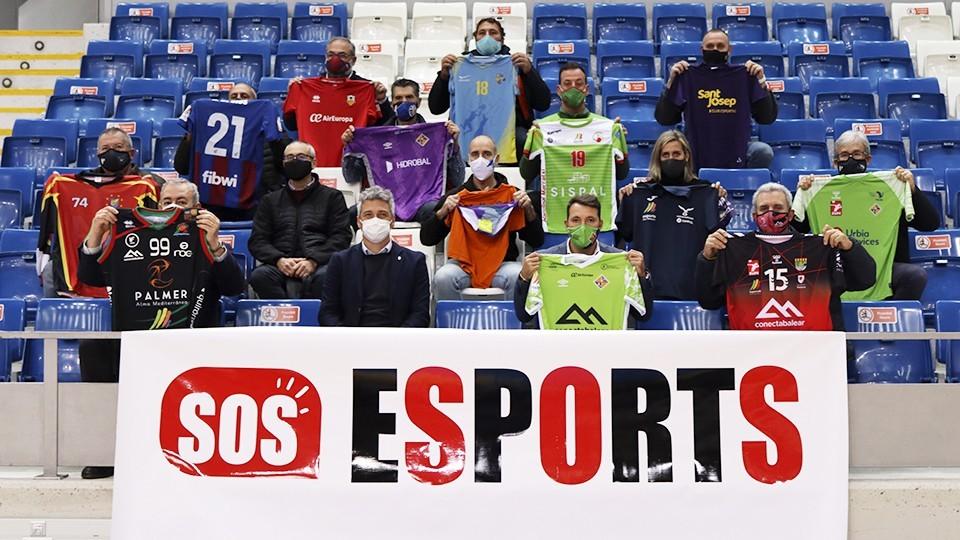 El Govern Balear informa a la plataforma 'SOS Esports' que trabaja para el regreso de competiciones y de los aficionados a partir del 12 de marzo