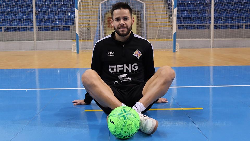 Marlon, jugador del Palma Futsal.