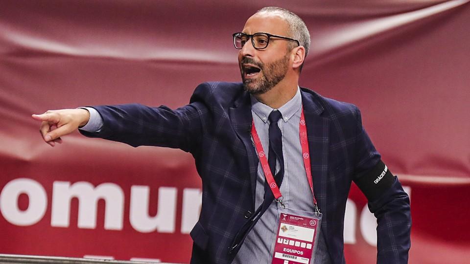 Antonio Vadillo, entrenador del Palma Futsal.