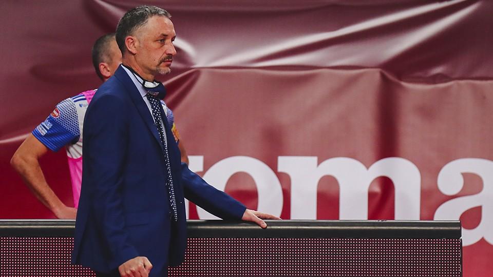 """David Marín: """"Lógicamente la derrota no nos deja contentos, pero si el paso adelante dado por el equipo"""""""
