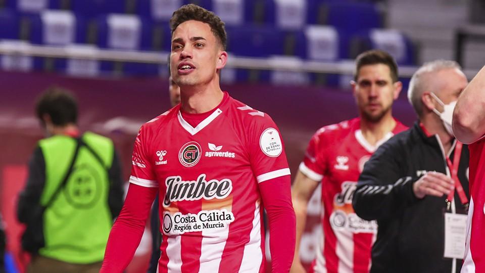 Jesús Izquierdo, jugador del Jimbee Cartagena.