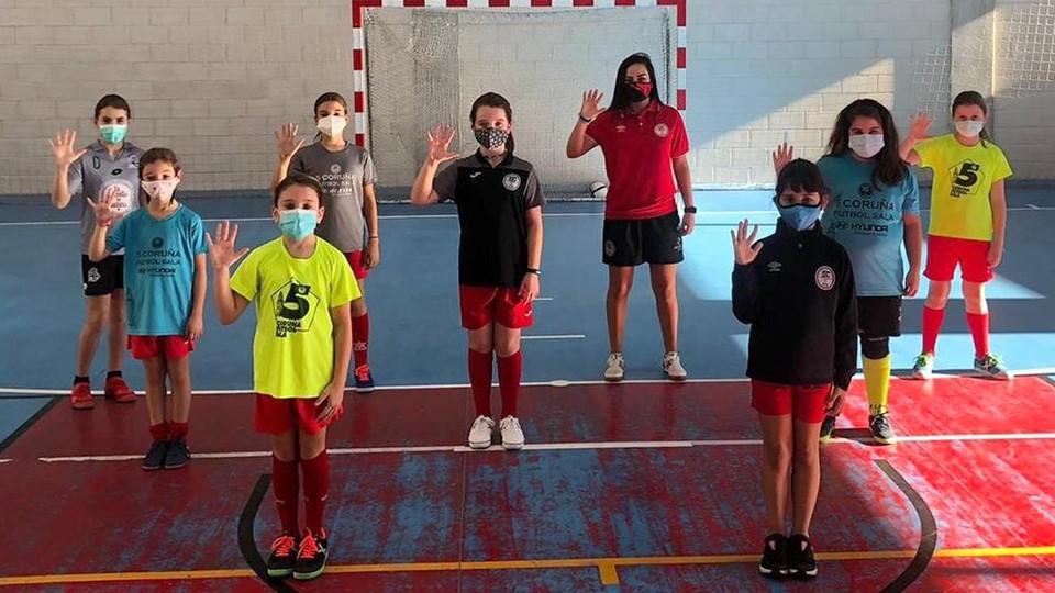 La Academia Red Blue 5 Coruña organizará 1ª Concentración de la categoría Autonómica Femenina en categoría alevín