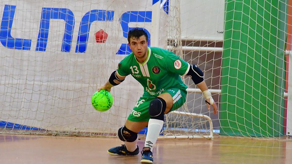 Guille Vela, jugador del Full Energía Zaragoza (Foto: Andrea Royo López).