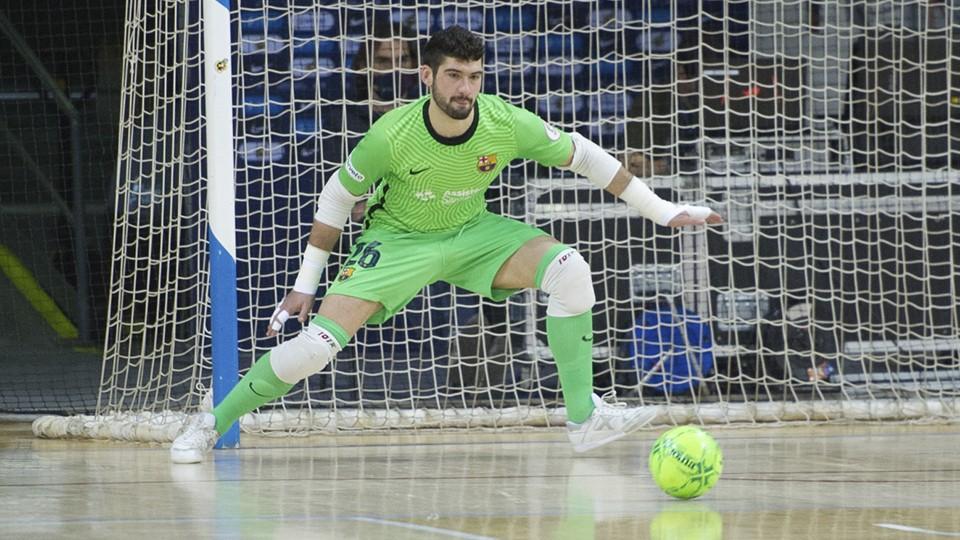 Miquel Feixas, baja por lesión en el Barça
