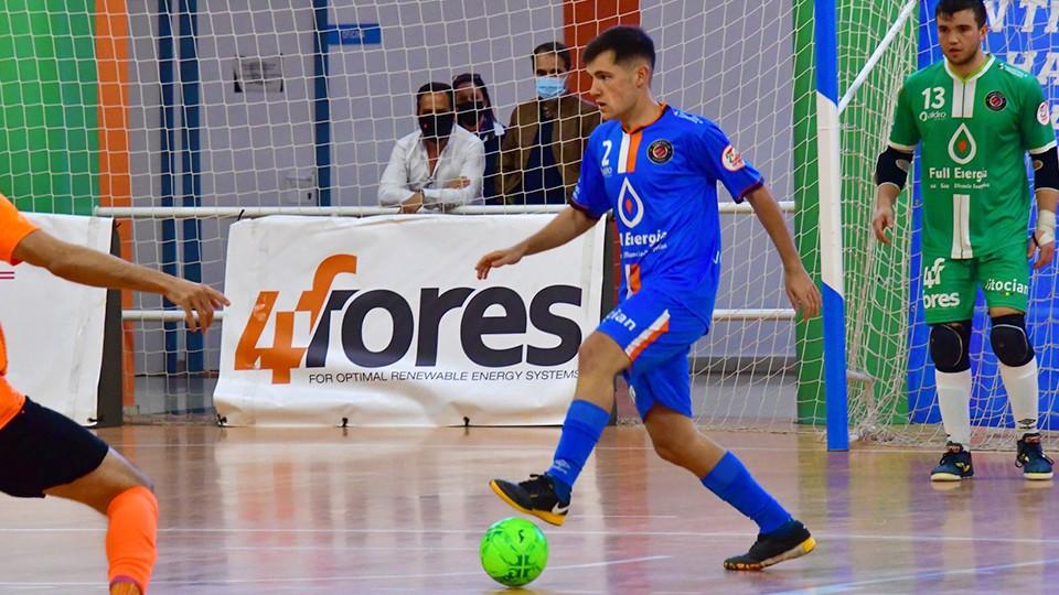Aitor Abenia, jugador del Full Energía Zaragoza. (Foto: Andrea Royo López)