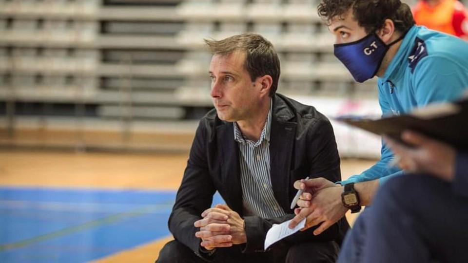 José Escrich, entrenador de Bisontes Castellón.