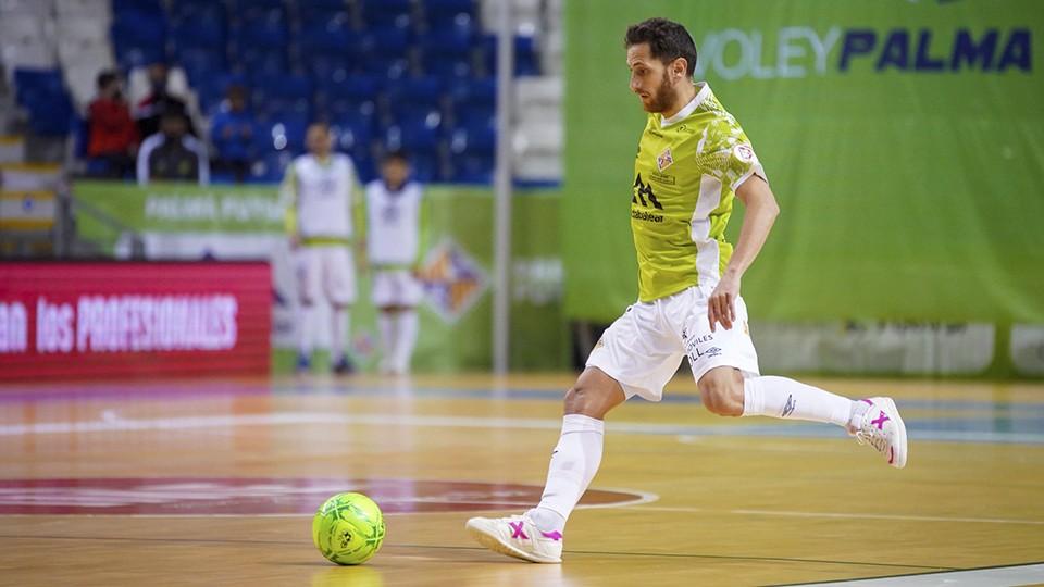 Rafa López, jugador del Palma Futsal.