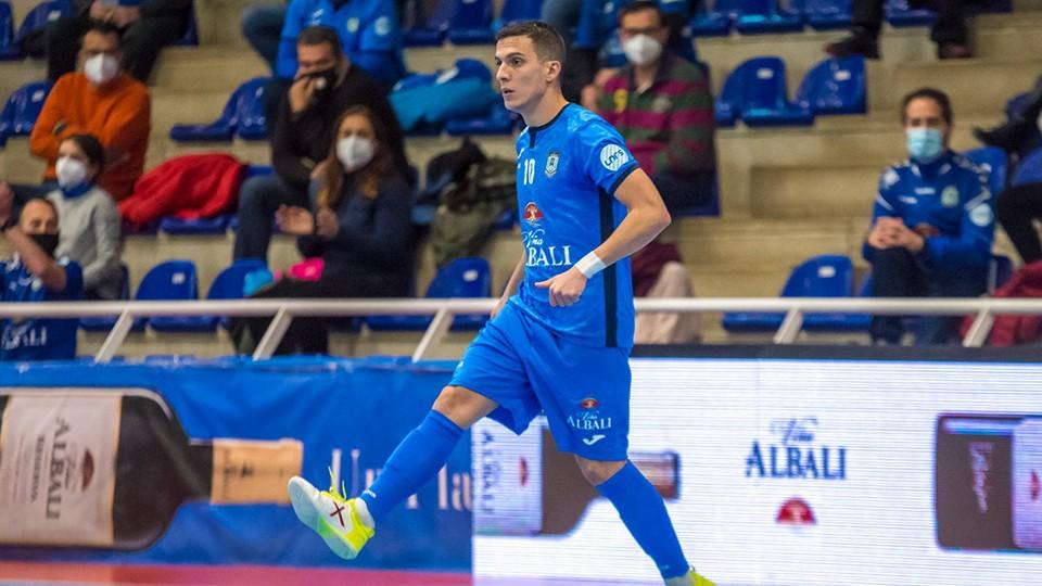 Dani Santos, jugador del Viña Albali Valdepeñas.