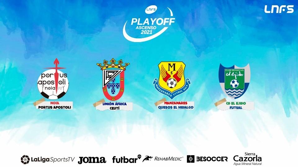 Definidos los participantes en el Play Off de Ascenso a Primera División
