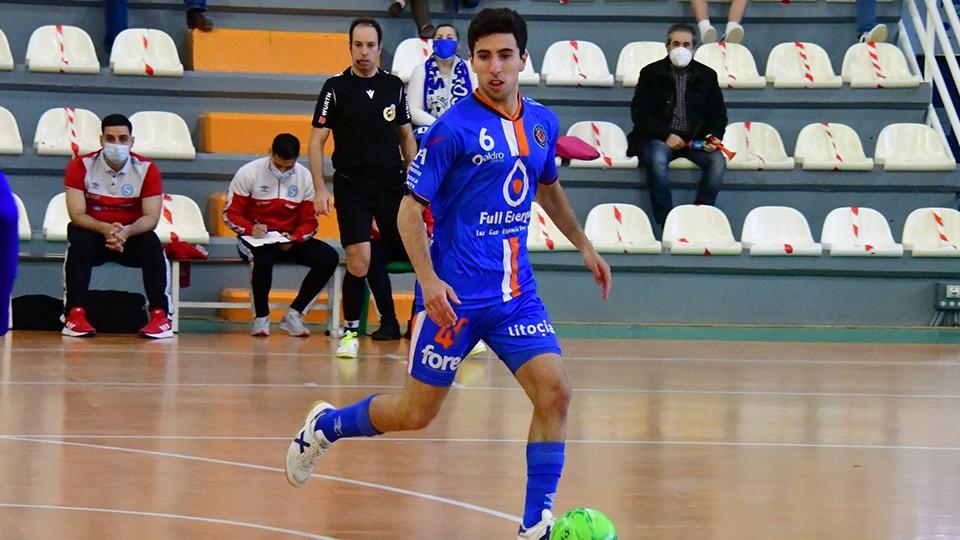 Jorge Tabuenca, jugador del Full Energía Zaragoza.