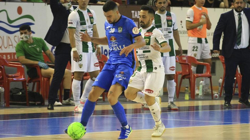Tablas en un igualado encuentro entre Córdoba Patrimonio y Viña Albali Valdepeñas (0-0)