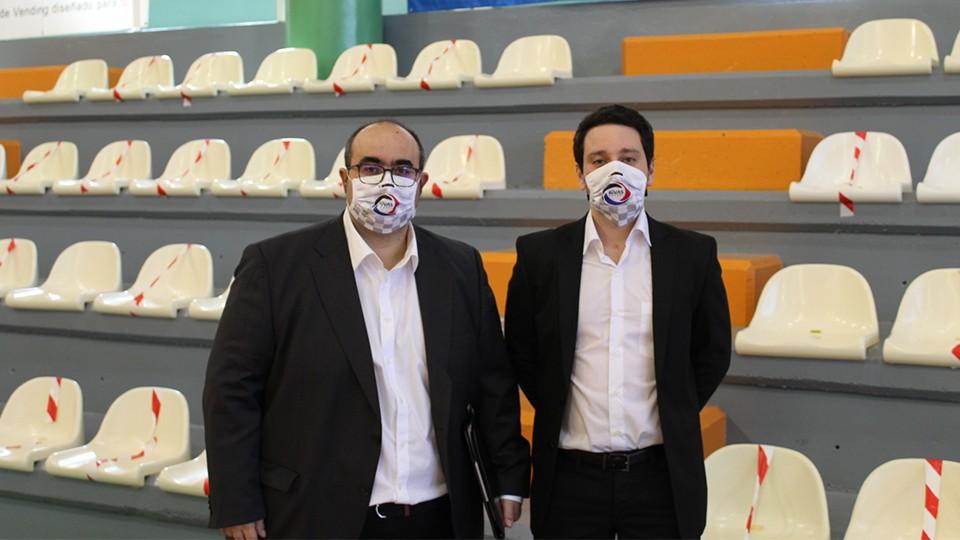 Ángel Saiz y Víctor Castellanos no continuarán en la disciplina del CD Rivas Futsal