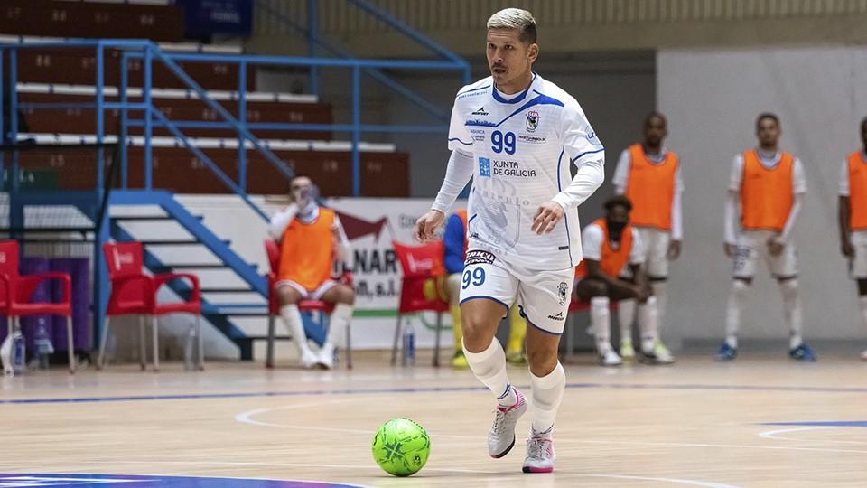 Kaoru Morioka, jugador de O Parrulo Ferrol. (Foto: Ismael Miján / MijanPhoto)