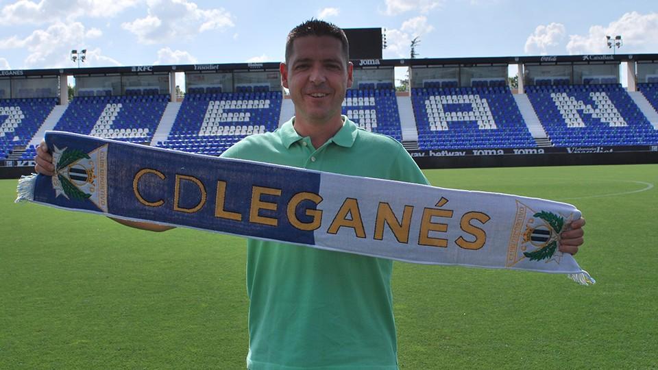 Diego Gacimartín, nuevo entrenador del C.D. Leganés FS