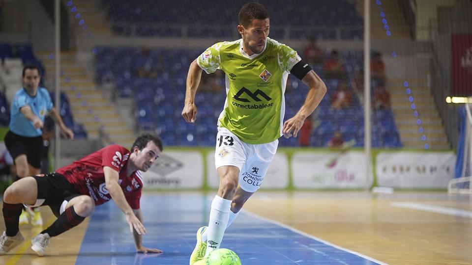 Raúl Campos, jugador del Palma Futsal.