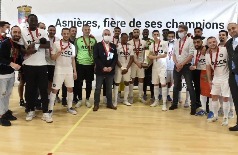 El ACCS de París se proclamó campeón de la D1 de Francia