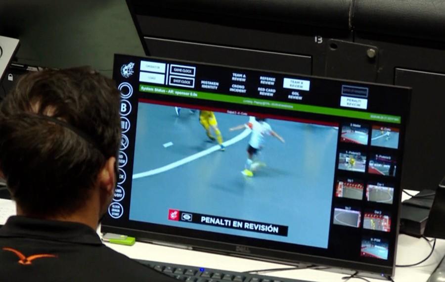 Habrá sistema de videoarbitraje en la Copa Mundial de Futsal de la FIFA Lituania 2021™