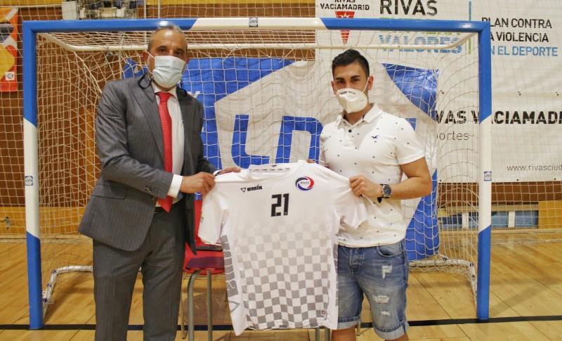 Kike, nuevo jugador del Rivas Futsal