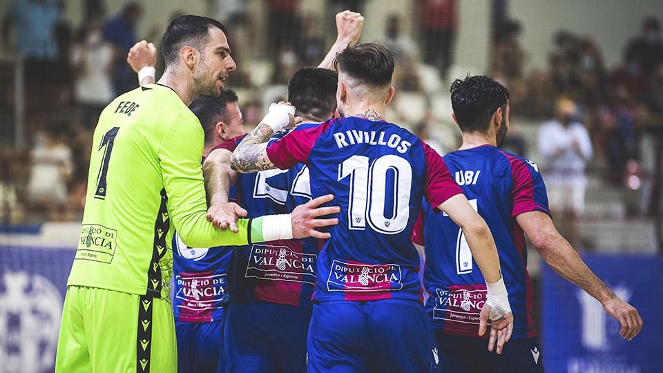 Levante UD FS: A una victoria de la Champions