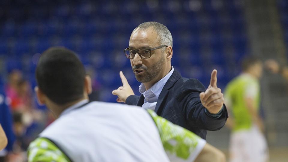 """Vadillo: """"Si hay alguien que da por muerto al Palma Futsal se equivoca"""""""