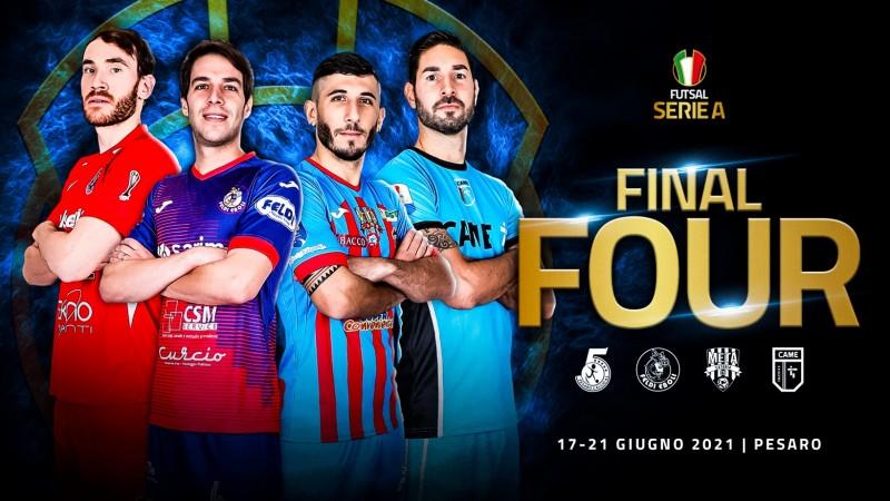 El campeón de la Serie A de Italia se decidirá en una Final Four del 17 al 21 de junio