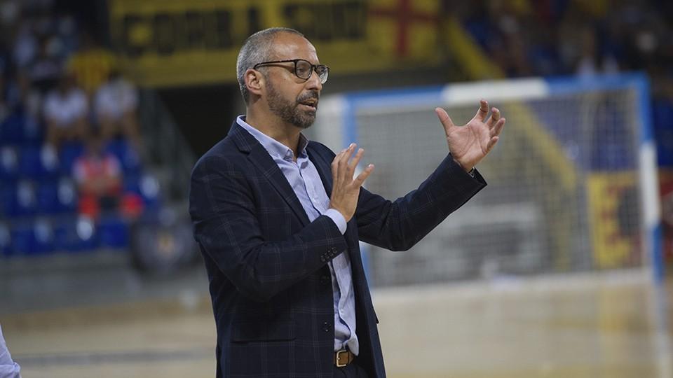 Vadillo, entrenador del Palma Futsal.