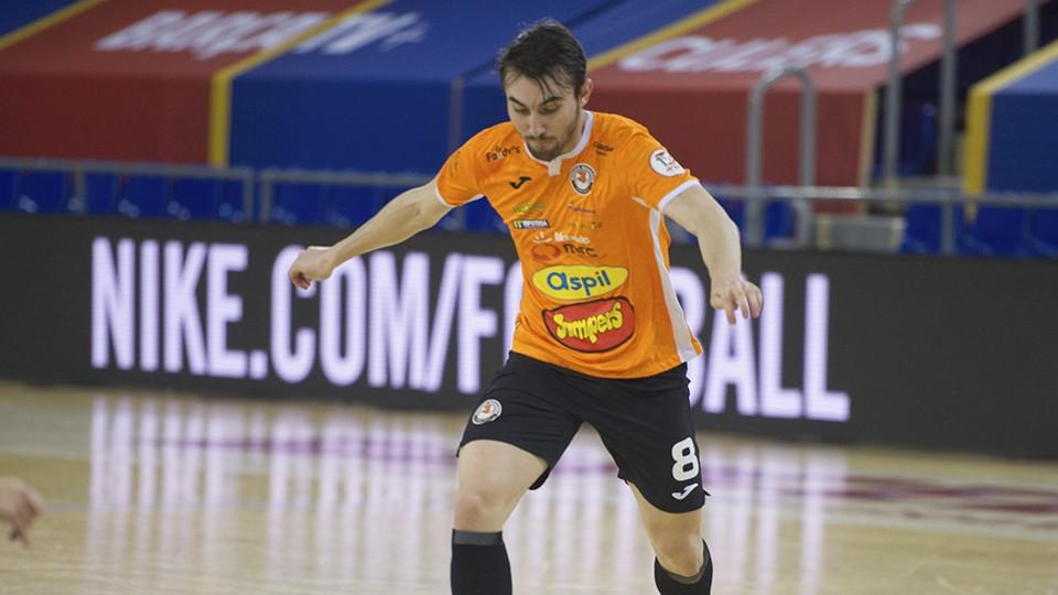 Javi Mínguez, nuevo jugador del Jimbee Cartagena.