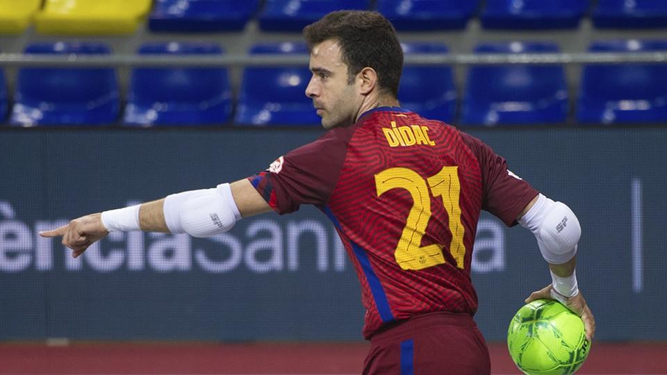 Dídac, portero del Barça.