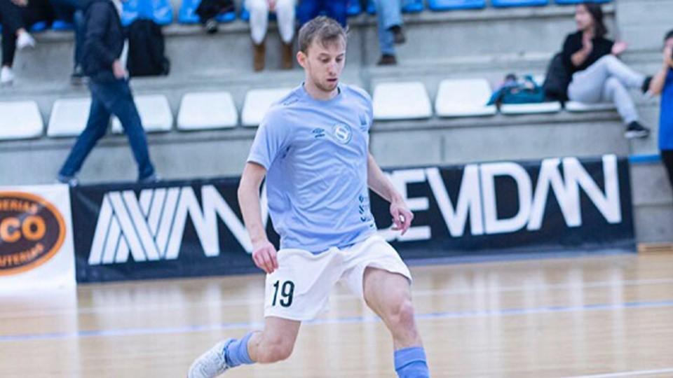 Santi Valladares, nuevo jugador de O Parrulo Ferrol.