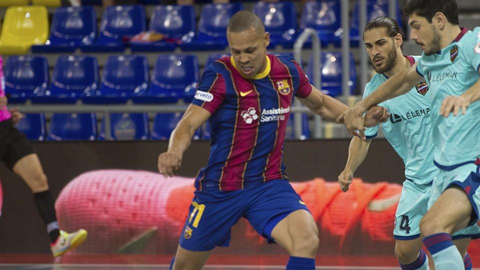 Ferrao, jugador del Barça.