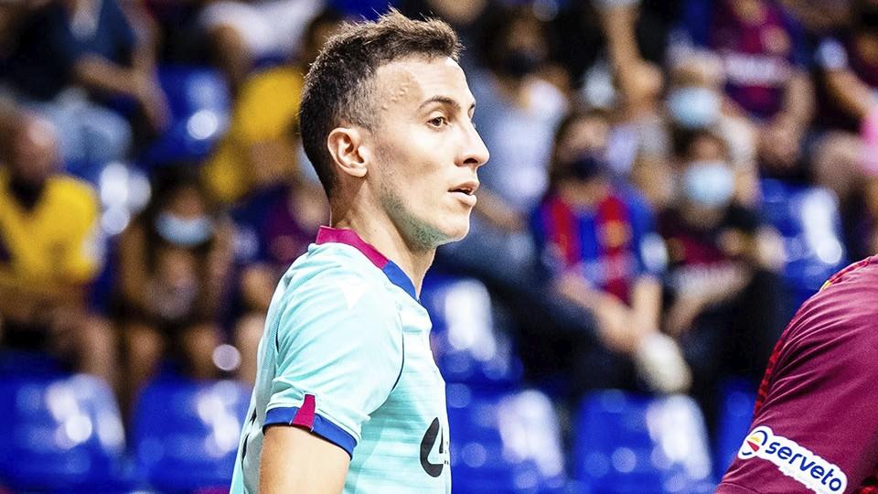Maxi Rescia, jugador del Levante UD FS.