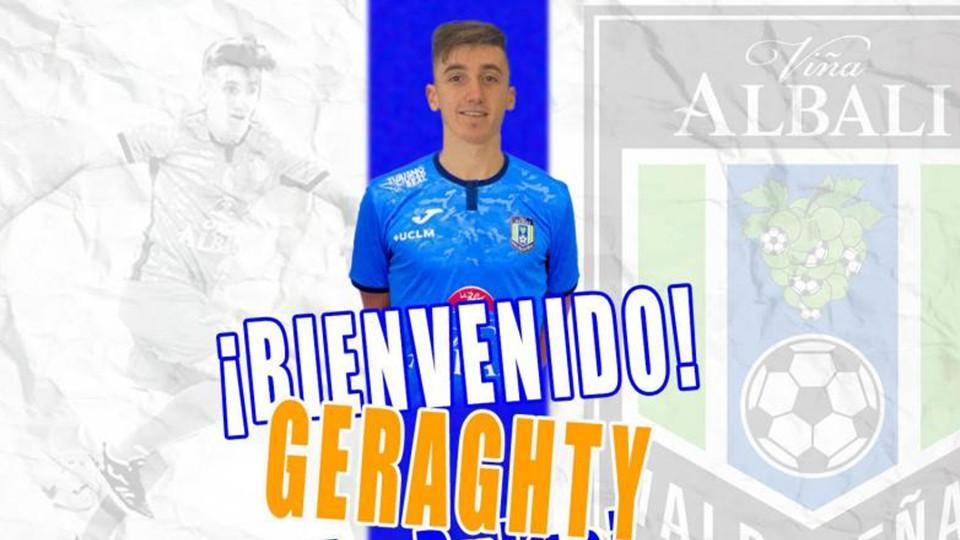 Andrés Geraghty 'Pulga Geragthy', fichaje de Viña Albali Valdepeñas