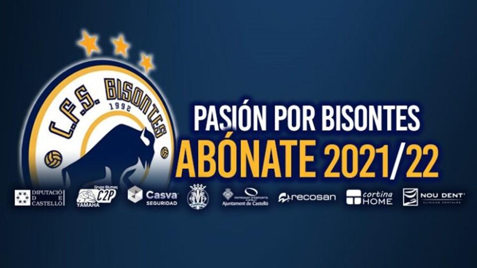 La campaña de abonos del Bisontes Castellón para la temporada 21/22 ya está en marcha