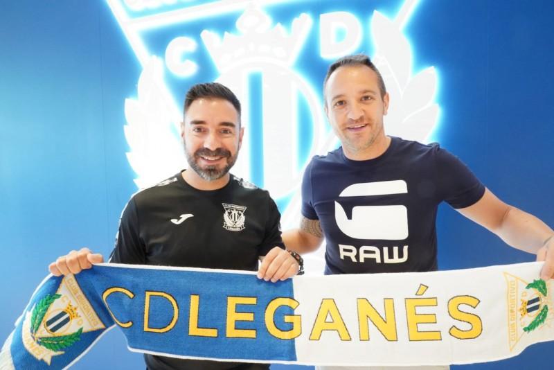 Gus, refuerzo de garantías para la portería del CD Leganés FS