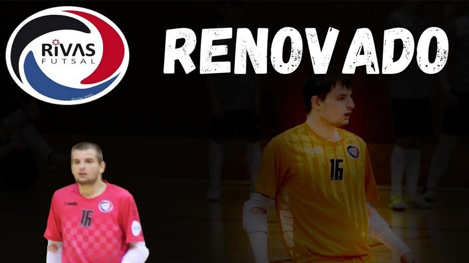 Vesko renueva con Rivas Futsal y pasa a formar parte de la primera plantilla