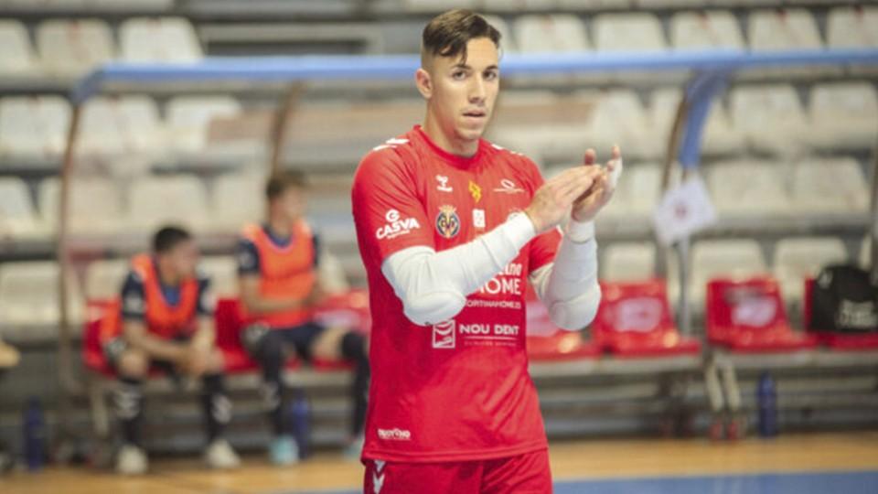 Thiago Bonilla, portero del Bisontes Castellón
