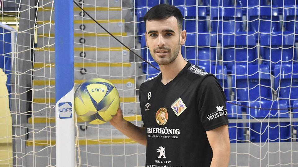 Eloy Rojas, jugador del Palma Futsal.