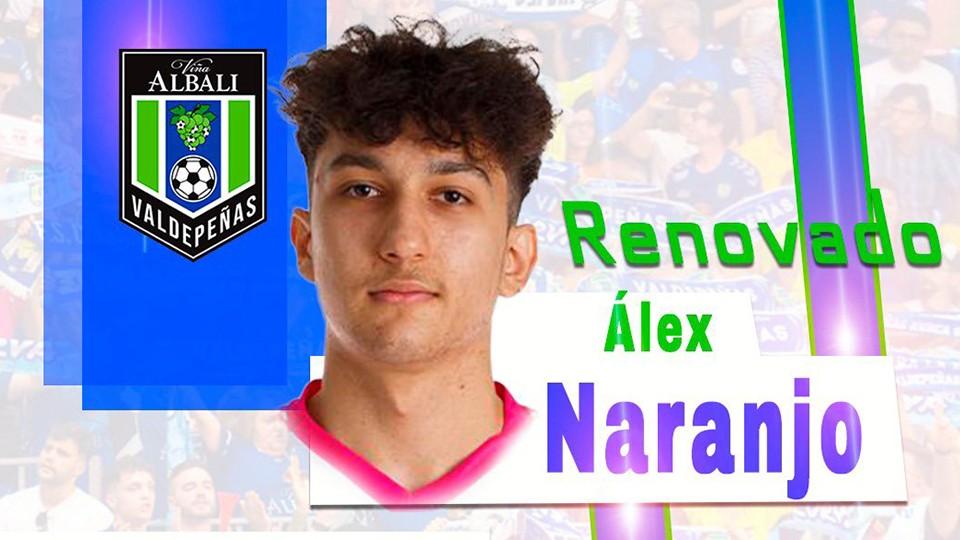 Viña Albali Valdepeñas anuncia la renovación de Álex Naranjo hasta 2024