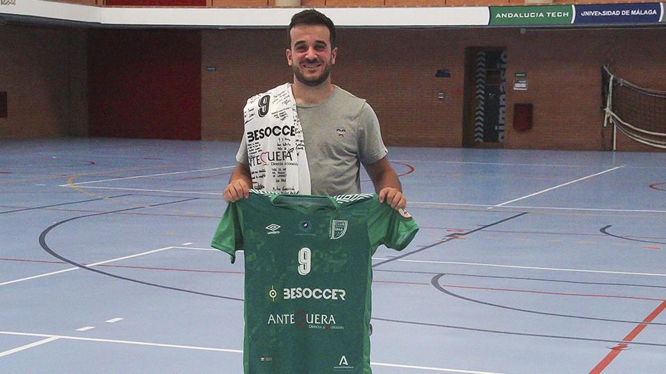 Dani Ramos, jugador del BeSoccer CD UMA Antequera.