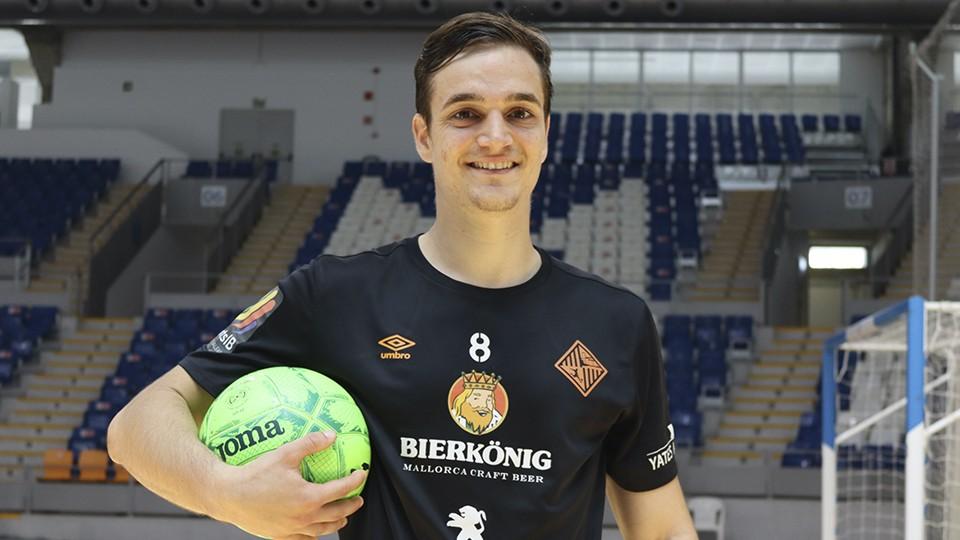 Pope, jugador del Palma Futsal.