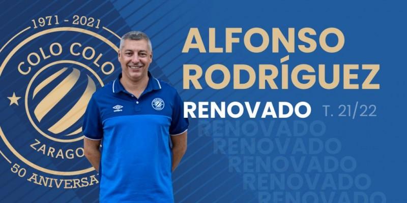Alfonso Rodríguez, renovado con Full Energía Zaragoza