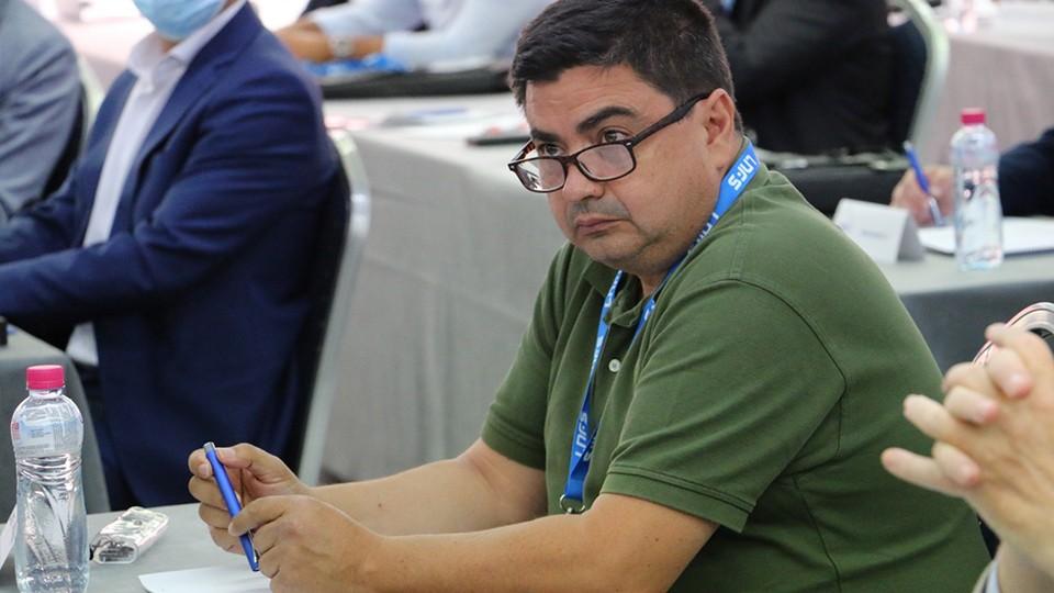 José García Román, presidente del Córdoba Patrimonio de la Humanidad.