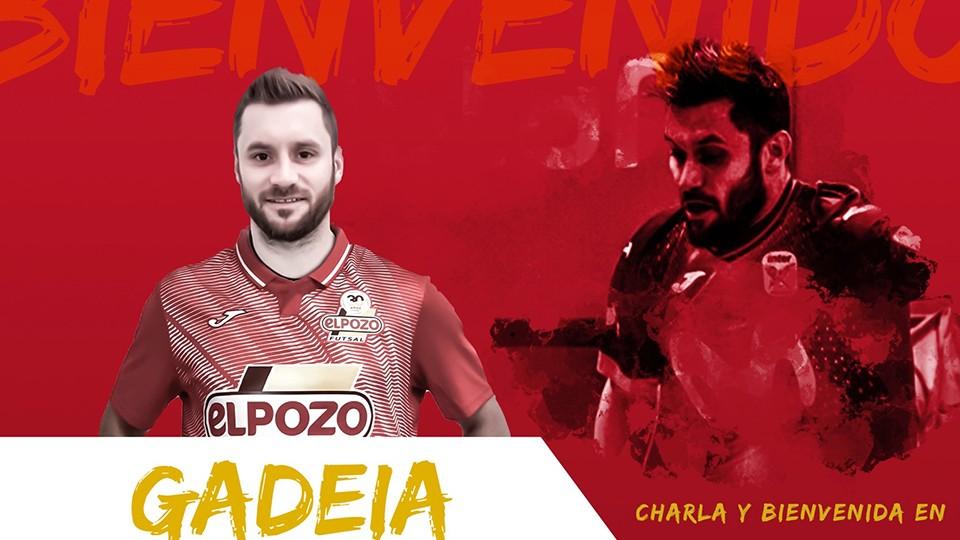 """Gadeia: """"Esperamos ganar todos los títulos posibles, voy con muchas ganas y espero hacer feliz a la afición"""""""