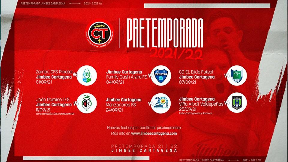 Jimbee Cartagena perfila su pretemporada