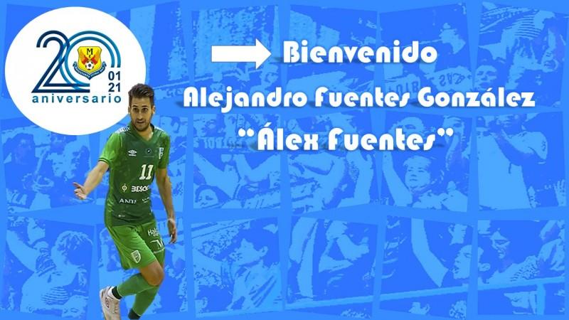 Álex Fuentes se suma al proyecto del Manzanares FS Quesos El Hidalgo